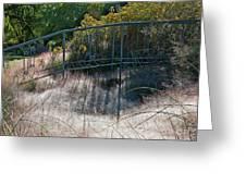 Morning Dew At Pendleton Park 2 Greeting Card