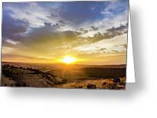 Morning Earth Rotation Greeting Card