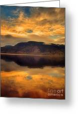 Morning Fire Greeting Card