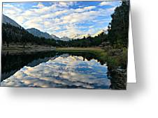 Morning Glory In The Land Of Little Lakes Greeting Card by Sean Sarsfield