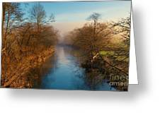 A Winter Morning Greeting Card
