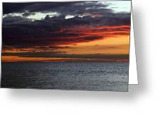 Morning Horizon Greeting Card