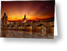 Morning In Prague Greeting Card