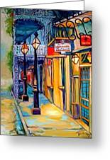 Morning In The French Quarter Greeting Card