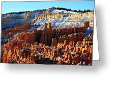 Morning Light At Sunset Point In Bryce Canyon Greeting Card