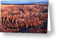 Morning Light In Bryce Canyon Greeting Card