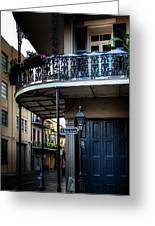 Morning Light In The French Quarter Greeting Card