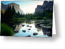 Morning Light On El Capitan Greeting Card