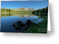 Morning Meditation - Lake Irwin Greeting Card
