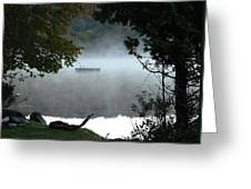 Morning Mist 1008 Greeting Card