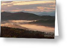 Morning Mist Four Greeting Card