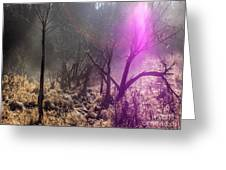 Morning Misty Flare Greeting Card