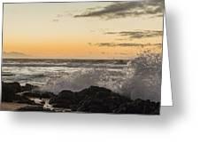 Morning Ocean Mist Greeting Card