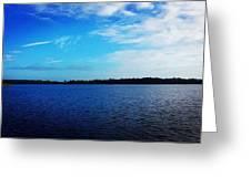 Morning On Bass Lake Greeting Card