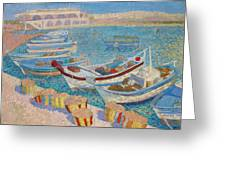 Morning  On Cyprus .2003 Greeting Card