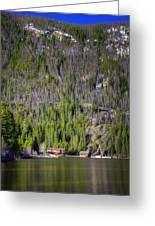 Morning On Grand Lake Greeting Card