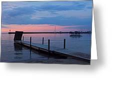 Morning On Lake Huron Greeting Card