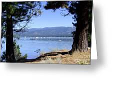 Morning On Lake Tahoe Greeting Card