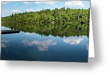 Morning On Lincoln Pond Greeting Card