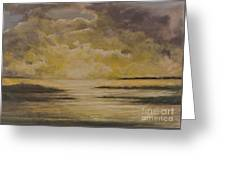 Morning On The Chesapeake Greeting Card