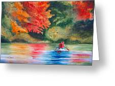 Morning On The Lake Greeting Card