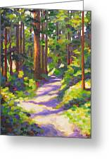 Morning On The Trail 3 Greeting Card