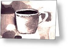 Morning Routine Greeting Card