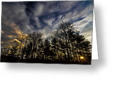 Morning Sky Greeting Card