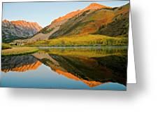 Morning Sun Rise Greeting Card by Martin Nunez