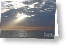 Morning Sunburst Greeting Card