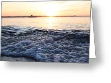 Morning Sunrise 09-02-18 #8 Greeting Card