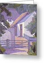 Morning, The South Downs By Robert Polhill Bevan Greeting Card