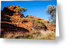 Morning To The Kings Canyon Rim - Northern Territory, Australia Greeting Card