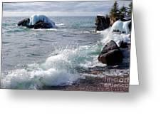 Morning Waves Greeting Card