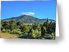 Morning View Of Albion Mountains Greeting Card