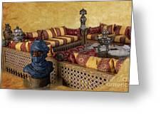 Moroccan Room Greeting Card