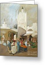 Moroccan Souk Greeting Card