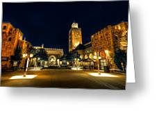 Morocco Pavilion, Epcot, Walt Disney World, Lake Buena Vista, Florida Greeting Card