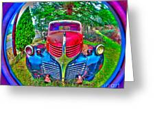 Morphing Mopar Greeting Card