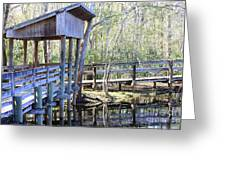 Morris Bridge Greeting Card