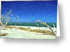 Morris Island Lighthouse 2 Greeting Card