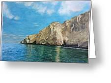 Morro Ballena North Of Chile Greeting Card