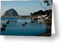 Morro Bay Rock Greeting Card