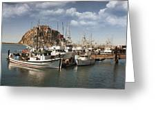 Morro Pier Greeting Card