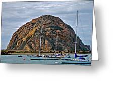 Morro Rock Greeting Card