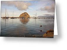 Morro Rocks Greeting Card