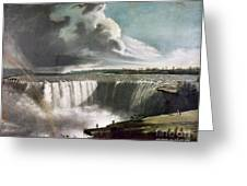 Morse: Niagara Falls, 1835 Greeting Card
