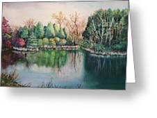 Morton Arboretum No.2 Greeting Card