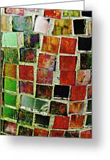 Mosaic 17 Greeting Card