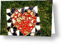 Mosaic 2 Greeting Card
